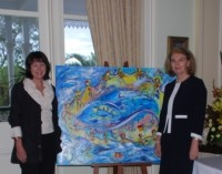 SLS Circle of Friends presentation, Government House May 2010